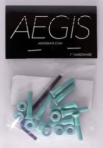 Hardware Painted Aqua 1""
