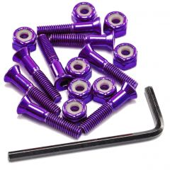 Hardware Anodised Purple 1""